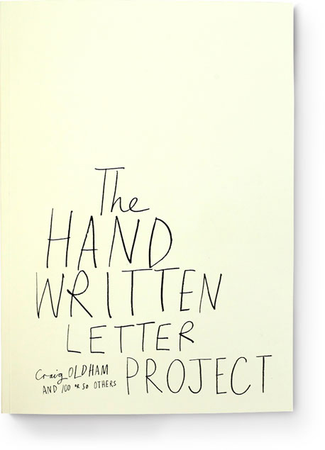 The HandWritten Letter Project Book